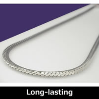 Pure Titanium Herringbone Necklace 50cm (19.6