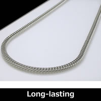 Pure Titanium Curb Chain Necklace (5mm wide) 50cm (19.6