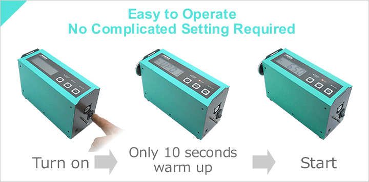 Easy to Operate No Complicated Setting Required